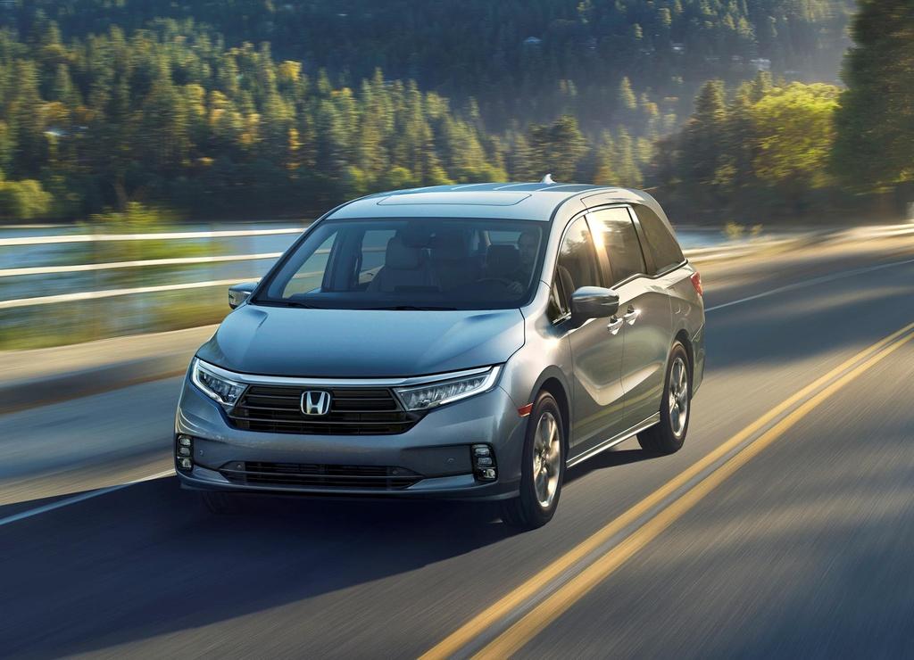 Honda Odyssey 2021 ra mat - thiet ke khong dep, tap trung vao an toan hinh anh 1 686828.jpg