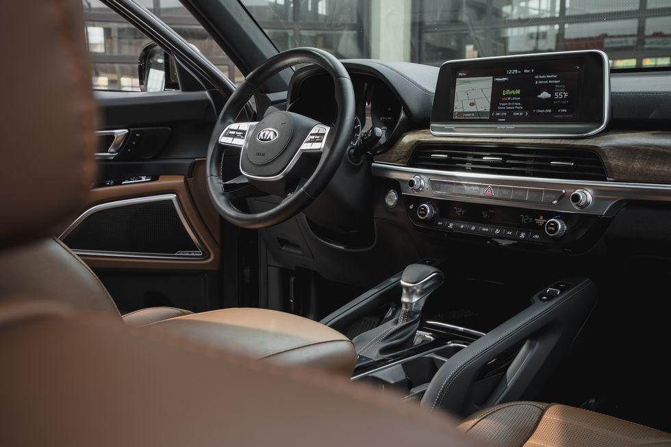 so sanh Kia Telluride 2020 va Toyota Highlander 2020 anh 15