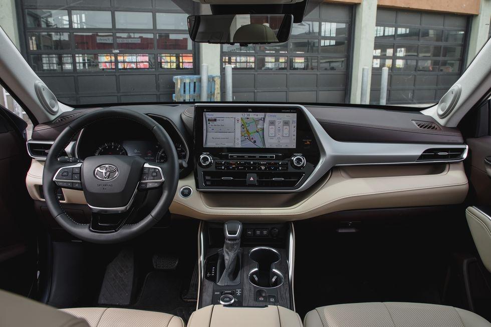 so sanh Kia Telluride 2020 va Toyota Highlander 2020 anh 6