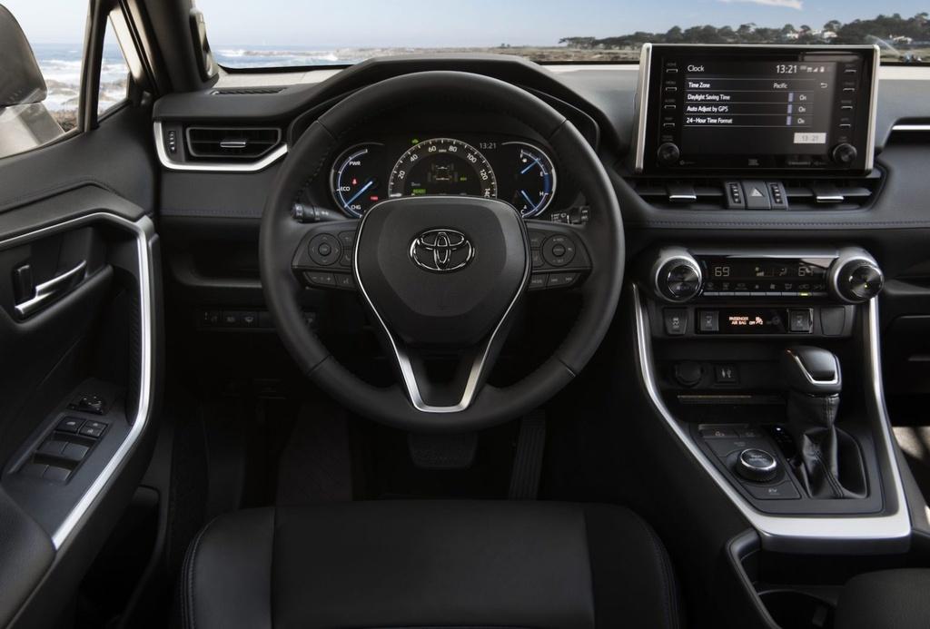 danh gia Toyota RAV4 Hybrid 2020 anh 14