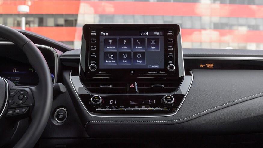 danh gia noi that Toyota Corolla 2020 anh 66