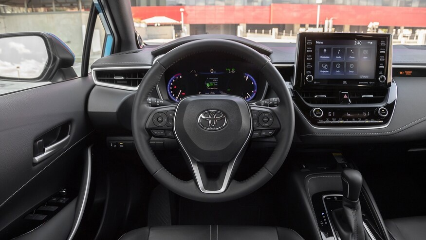 danh gia noi that Toyota Corolla 2020 anh 25