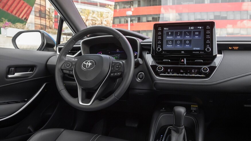 danh gia noi that Toyota Corolla 2020 anh 26