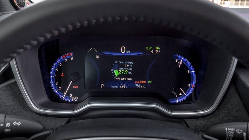 danh gia noi that Toyota Corolla 2020 anh 36