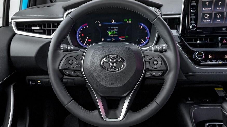 danh gia noi that Toyota Corolla 2020 anh 42