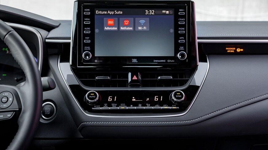 danh gia noi that Toyota Corolla 2020 anh 61