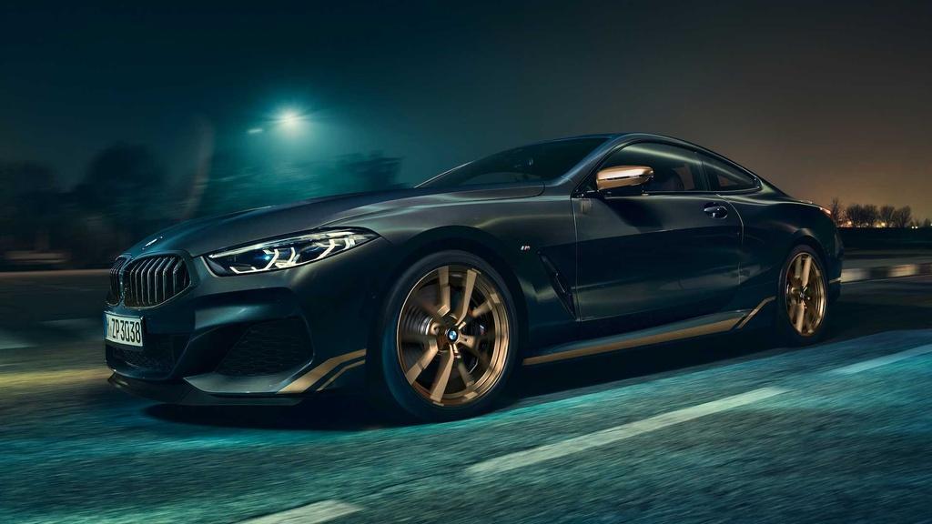 BMW 8-Series ra phien ban dac biet mau Gold anh 4