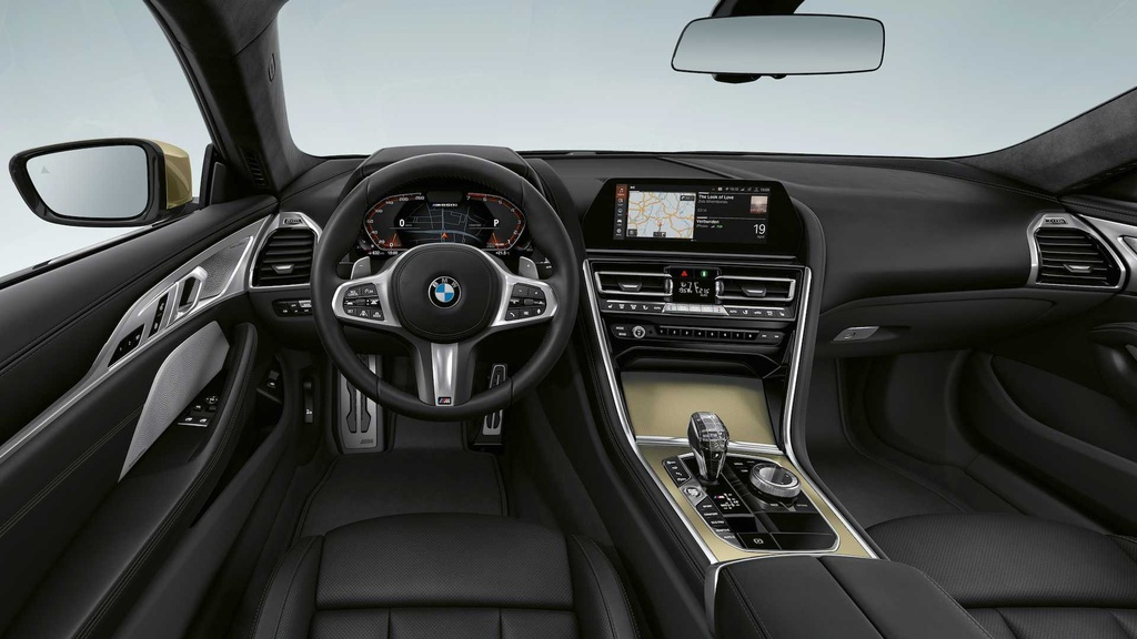 BMW 8-Series ra phien ban dac biet mau Gold anh 5