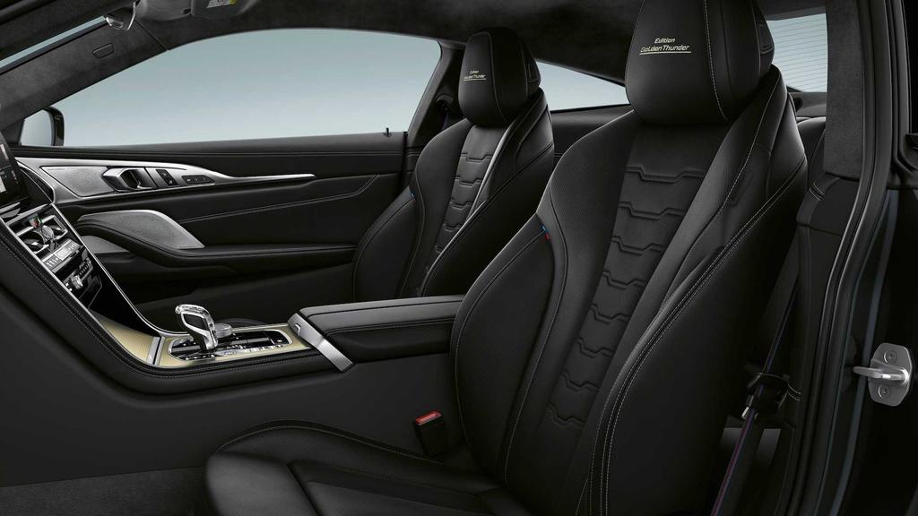 BMW 8-Series ra phien ban dac biet mau Gold anh 6