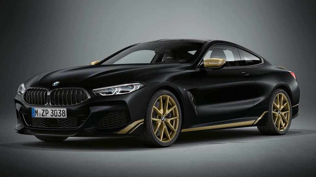 BMW 8-Series ra phien ban dac biet mau Gold anh 1