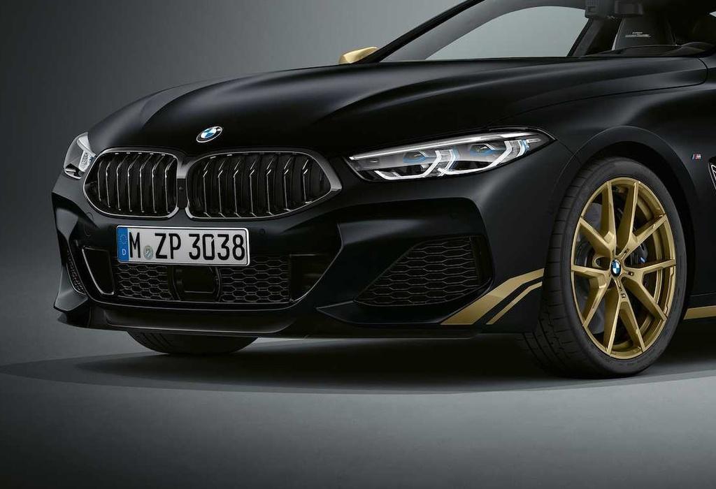 BMW 8-Series ra phien ban dac biet mau Gold anh 3