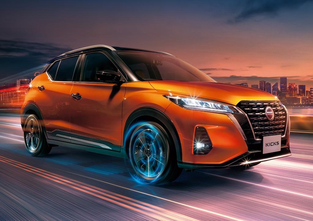 Nissan Kicks 2021 ra mat thi truong Nhat Ban anh 3