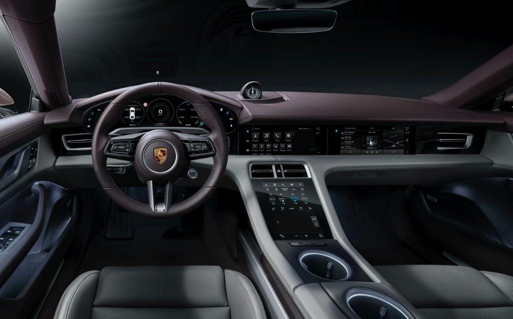 Porsche Taycan chay dien ra mat thi truong Trung Quoc anh 7