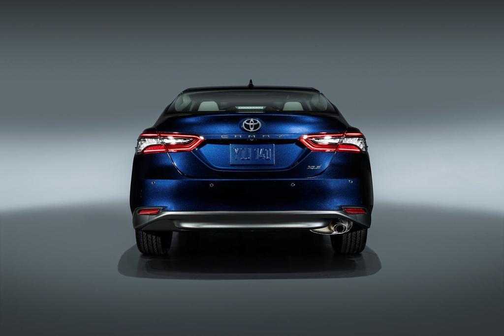 Toyota Camry 2021 nang cap thiet ke anh 11