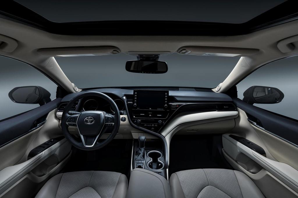 Toyota Camry 2021 nang cap thiet ke anh 4