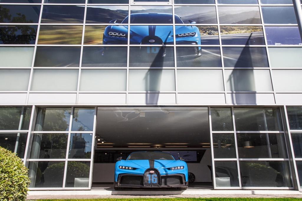 Bugatti Chiron Pur Sport sap san xuat anh 2