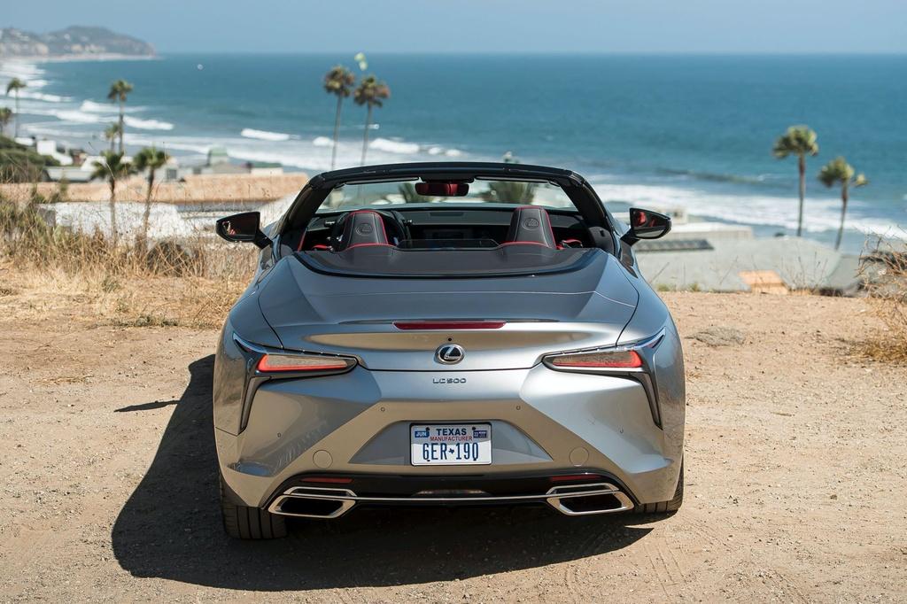 Lexus LC 500 Convertible 2021 sap ban ra thi truong anh 10