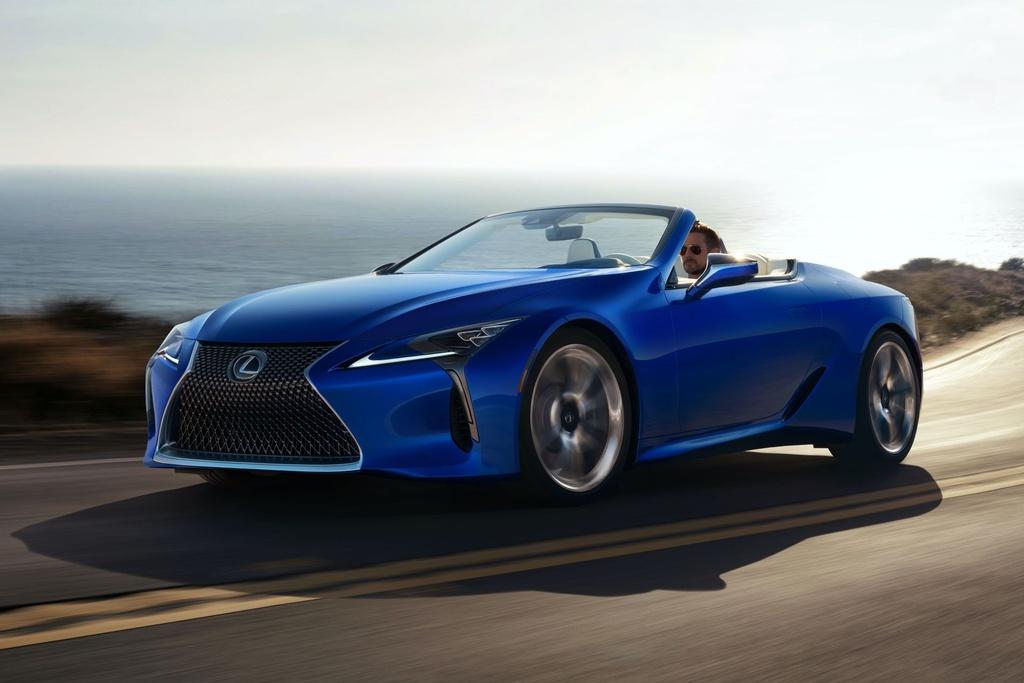 Lexus LC 500 Convertible 2021 sap ban ra thi truong anh 4