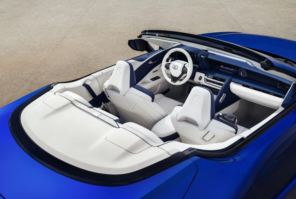 Lexus LC 500 Convertible 2021 sap ban ra thi truong anh 13