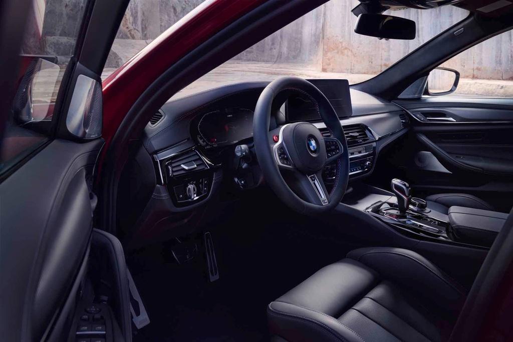 gia ban BMW M5 Competition 2021 tai Australia anh 5