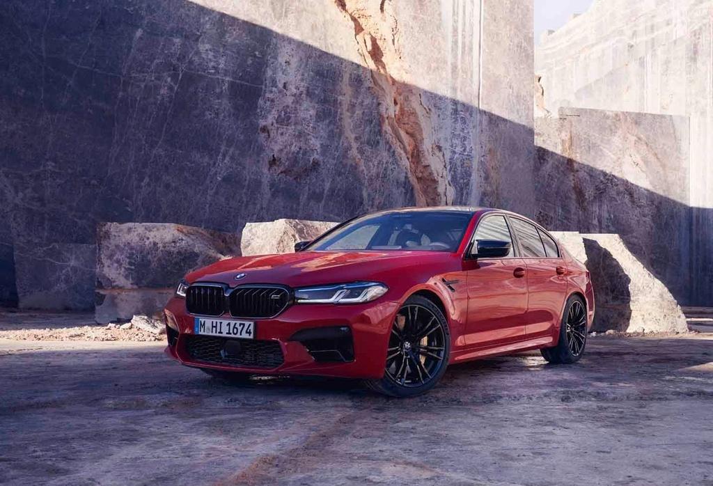 gia ban BMW M5 Competition 2021 tai Australia anh 7