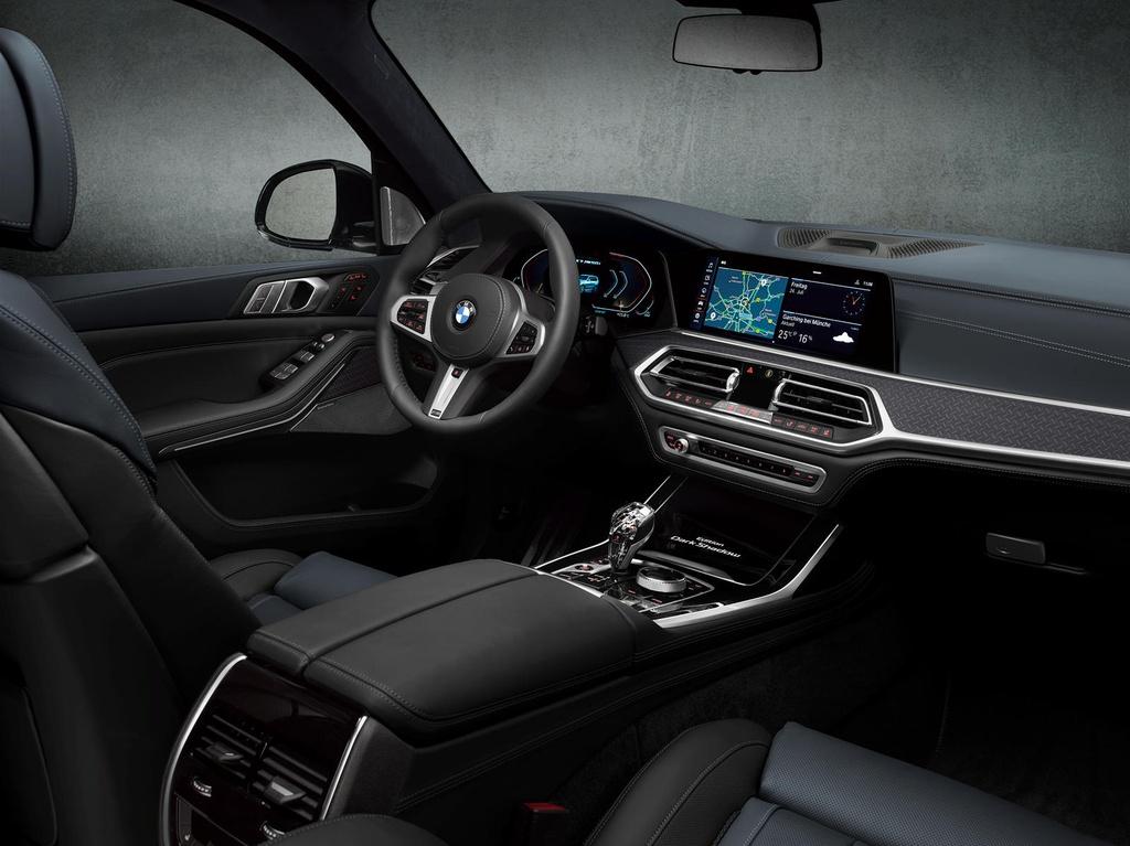 BMW X7 2021 ra phien ban bong dem anh 7