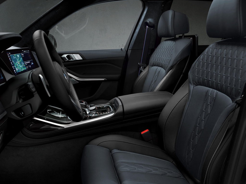 BMW X7 2021 ra phien ban bong dem anh 8