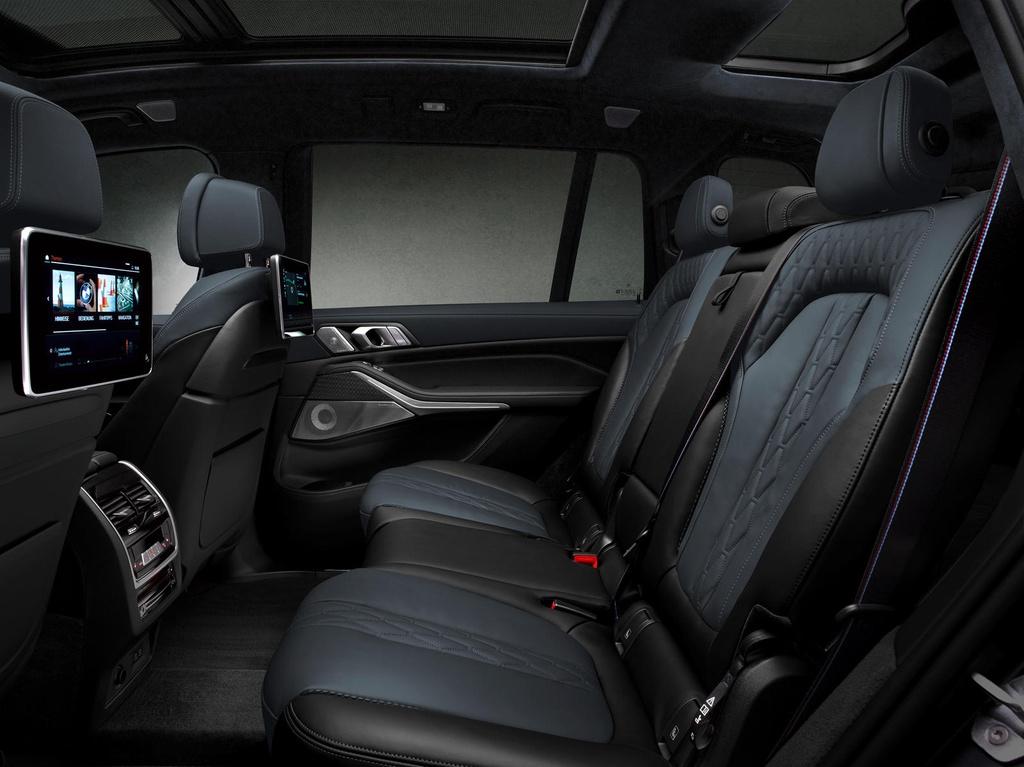 BMW X7 2021 ra phien ban bong dem anh 9