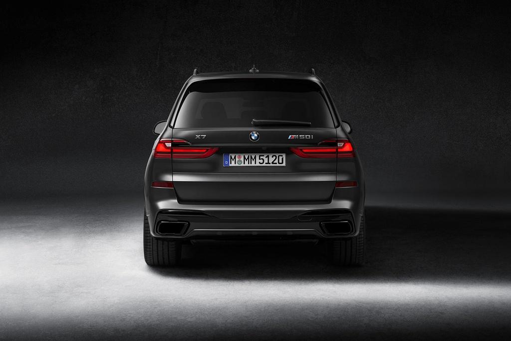 BMW X7 2021 ra phien ban bong dem anh 6