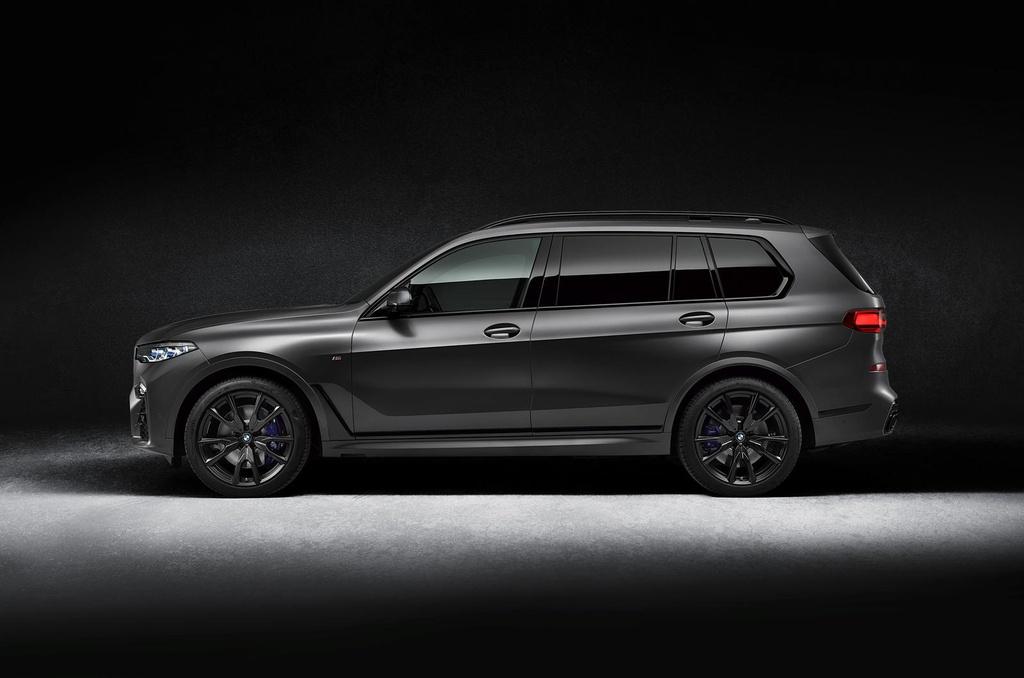 BMW X7 2021 ra phien ban bong dem anh 4