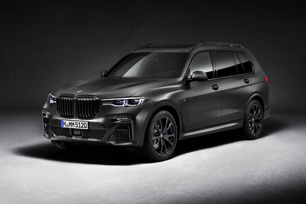 BMW X7 2021 ra phien ban bong dem anh 2