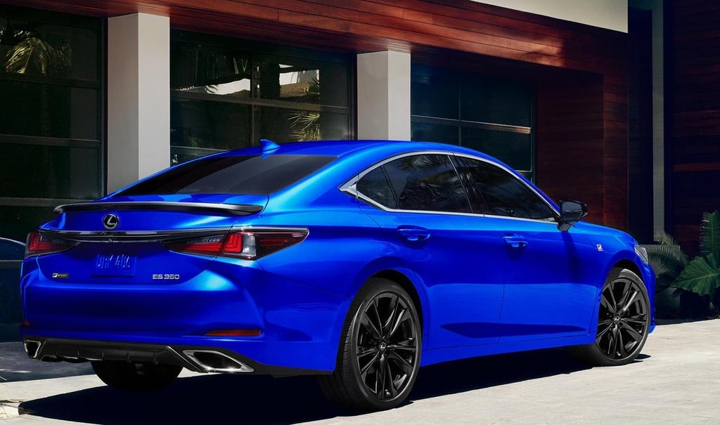 Lexus ES 2021 ra mat anh 7