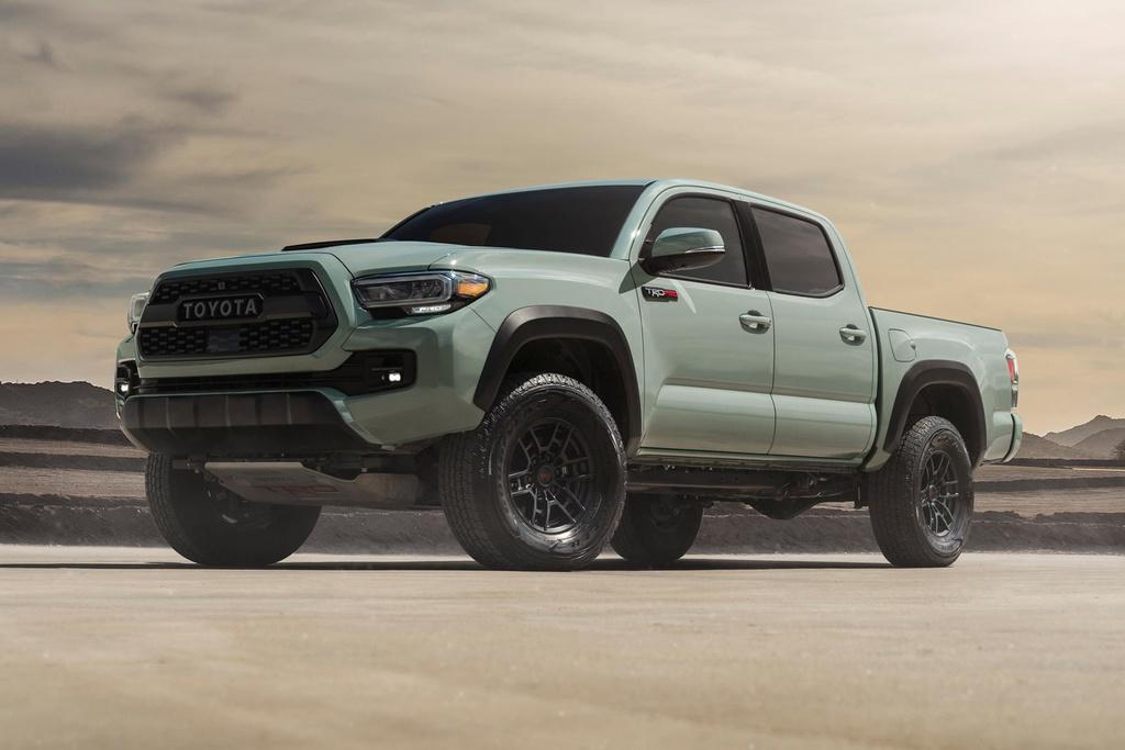 Toyota cong bo gia ban Tacoma 2021 anh 1