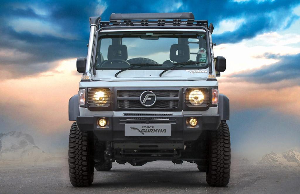 SUV An Do mang kieu dang Mercedes G-Class anh 2