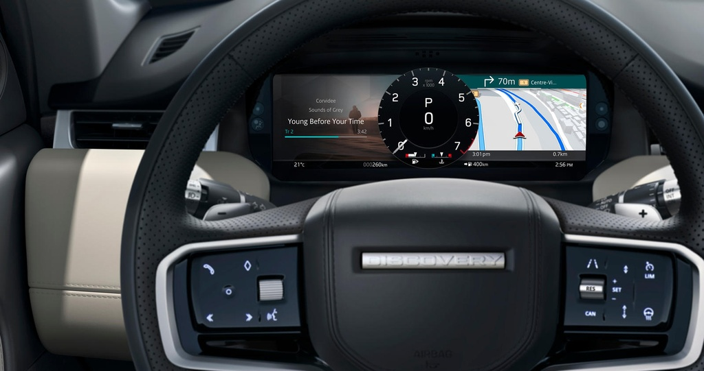 Land Rover Discovery Sport 2021 nang cap dong co va cong nghe anh 9
