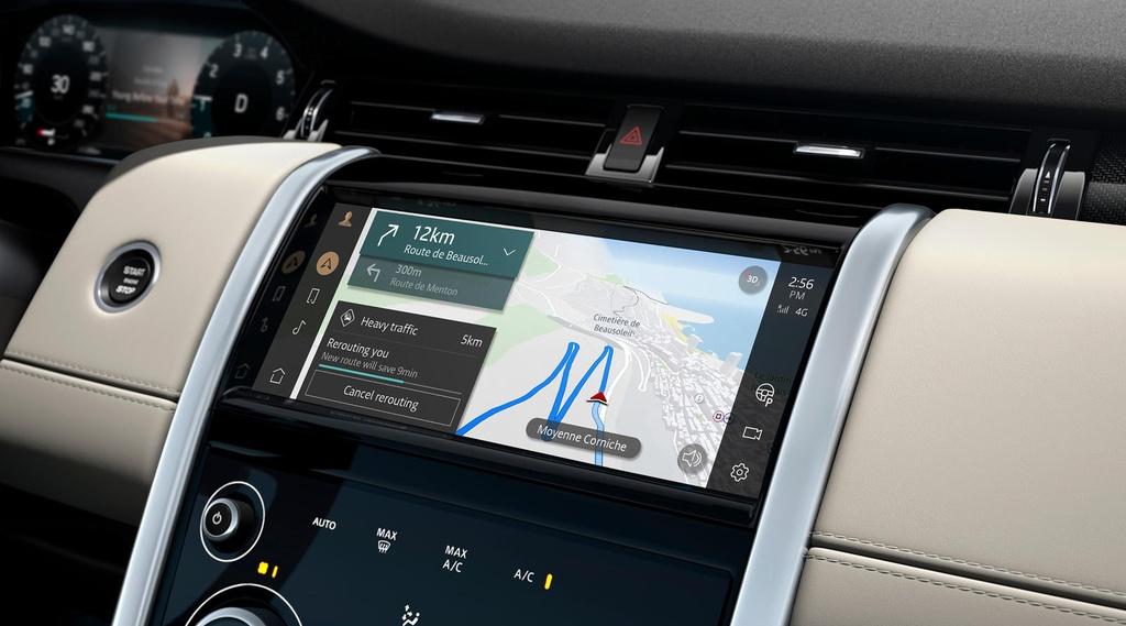 Land Rover Discovery Sport 2021 nang cap dong co va cong nghe anh 12