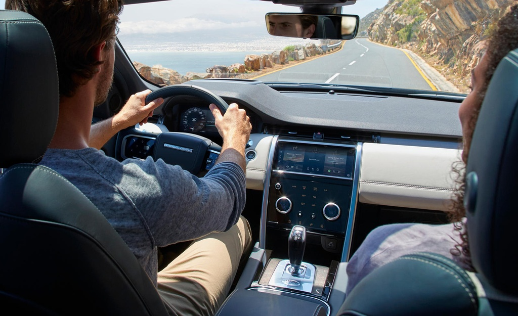 Land Rover Discovery Sport 2021 nang cap dong co va cong nghe anh 6