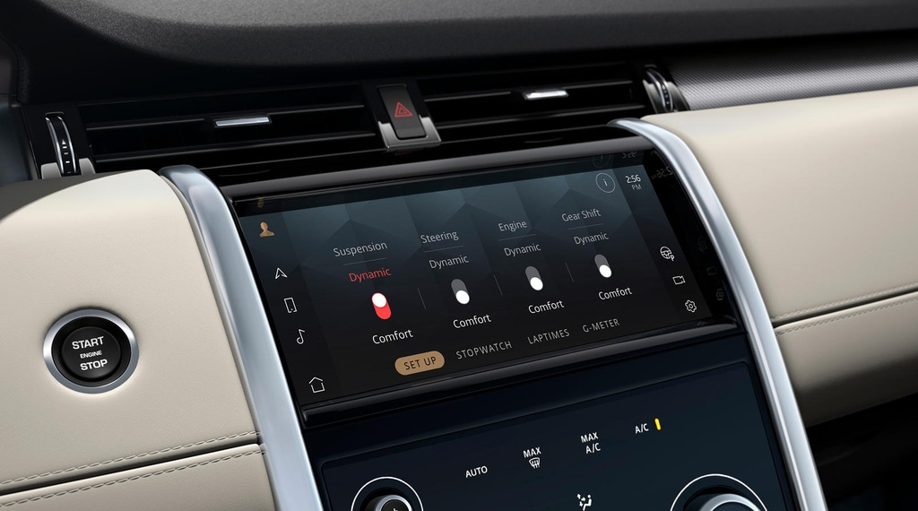 Land Rover Discovery Sport 2021 nang cap dong co va cong nghe anh 18