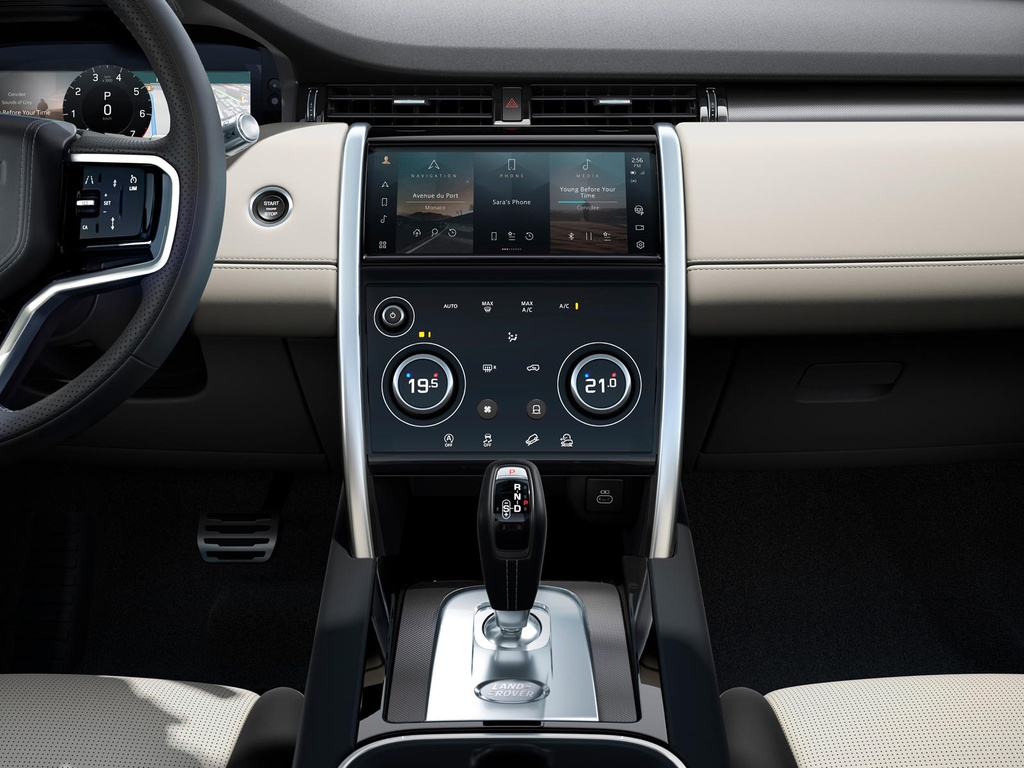 Land Rover Discovery Sport 2021 nang cap dong co va cong nghe anh 10