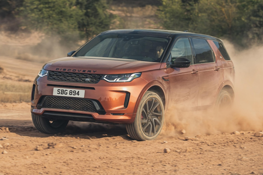 Land Rover Discovery Sport 2021 nang cap dong co va cong nghe anh 1
