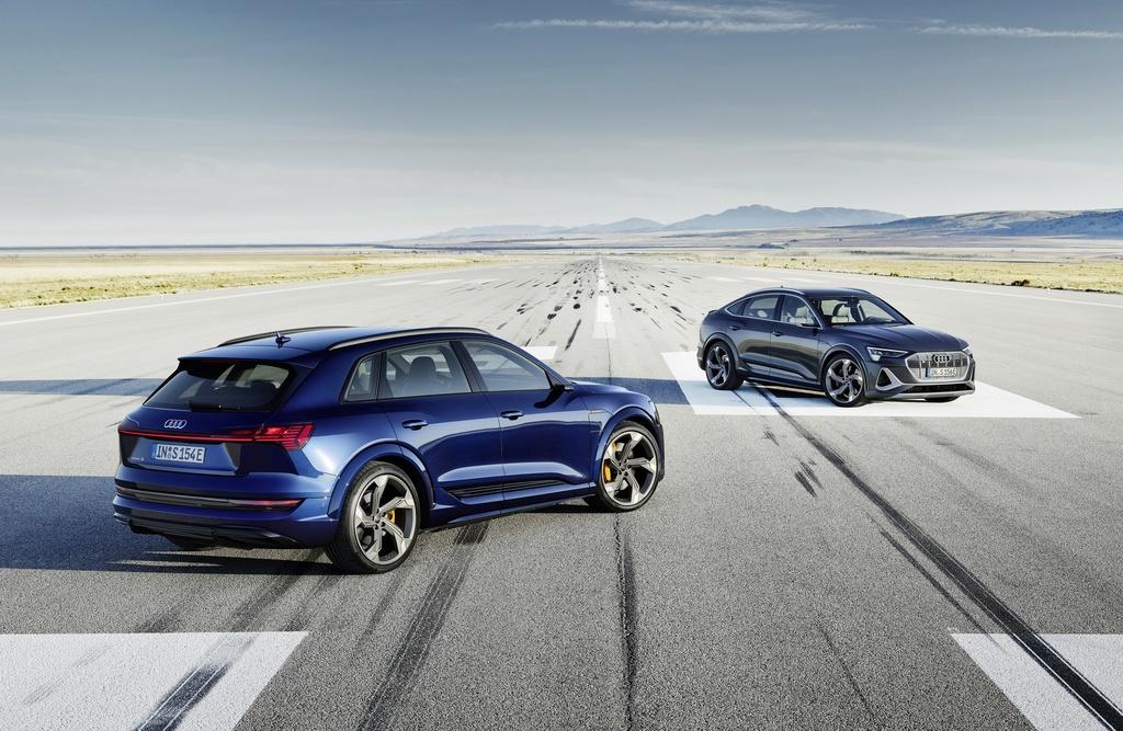 Audi E-Tron S 2021 ban ra thi truong anh 1