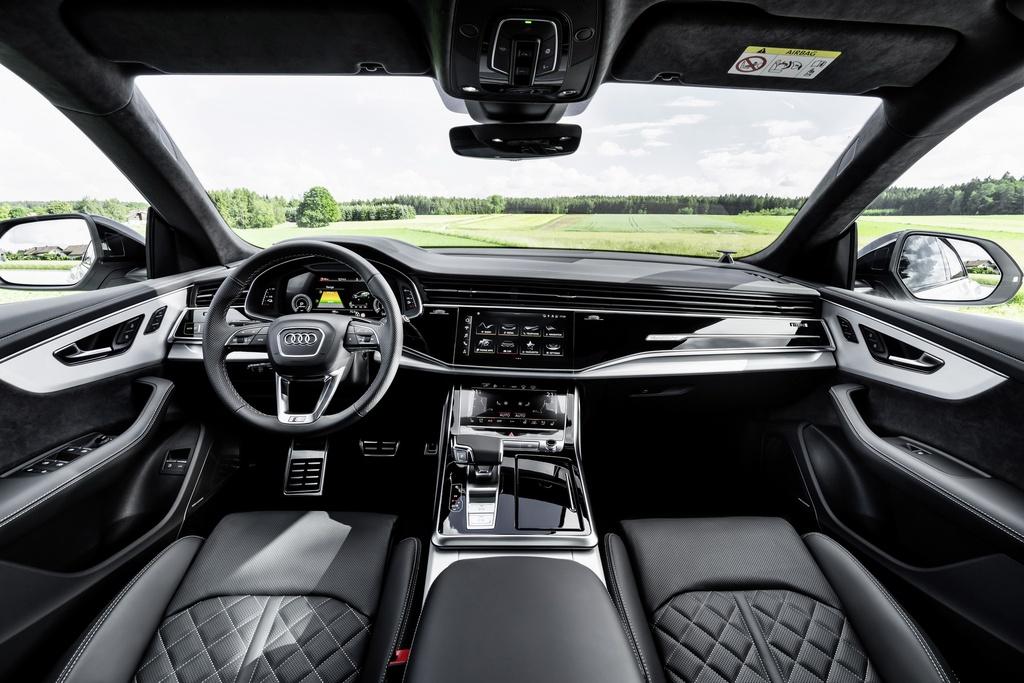 Audi ra mat 2 phien ban Q8 plug-in hybrid moi nhat anh 7