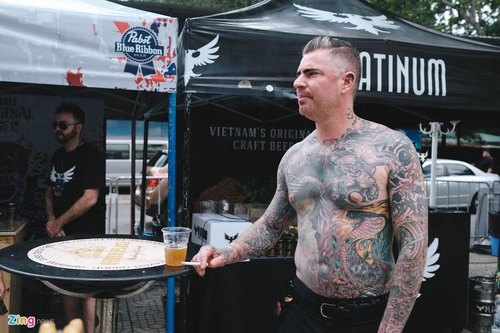 So huu hinh xam kin than the tai le hoi tattoo o Sai Gon hinh anh 11