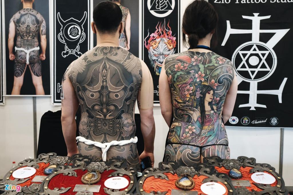 So huu hinh xam kin than the tai le hoi tattoo o Sai Gon hinh anh 7