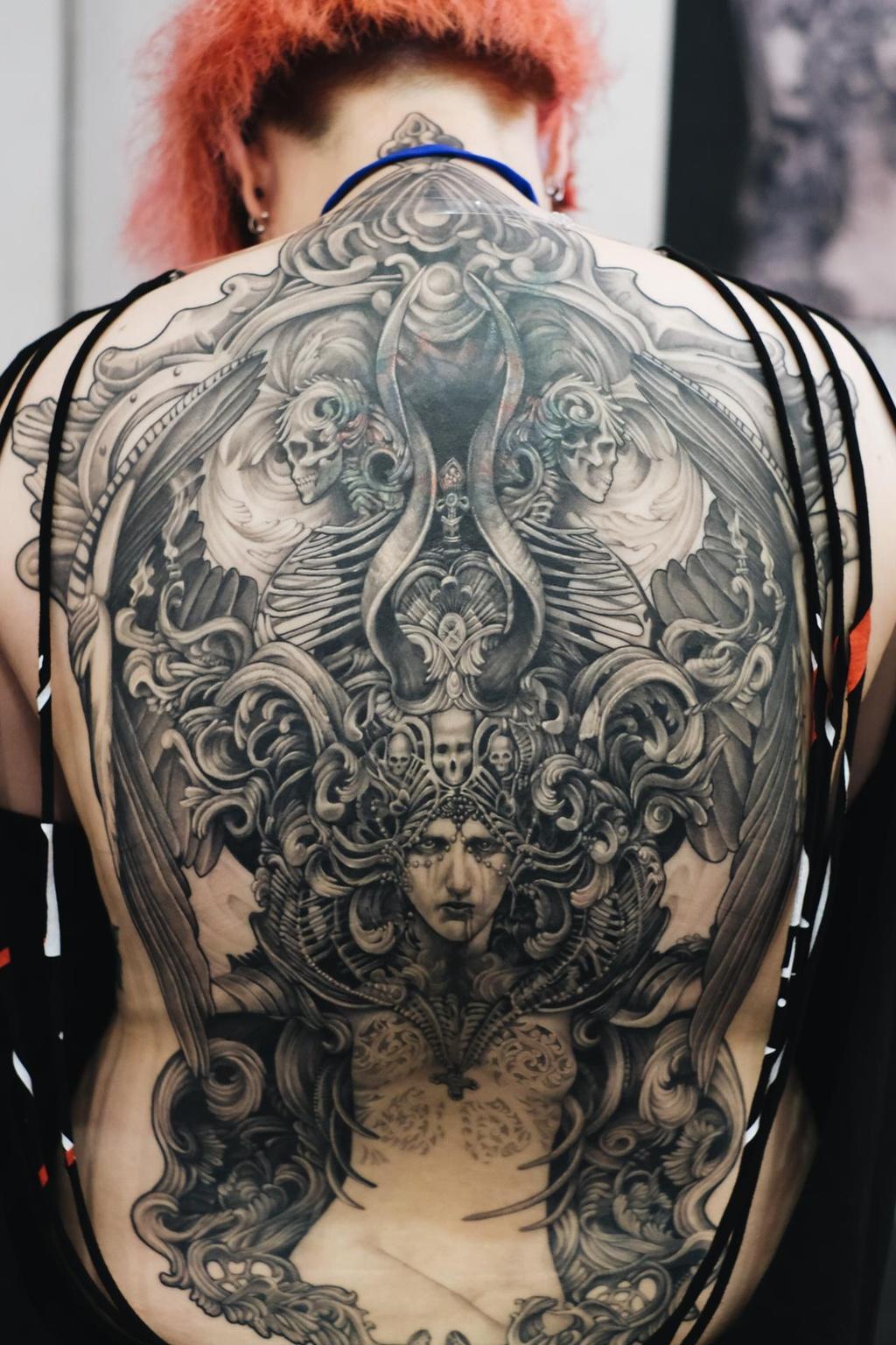 So huu hinh xam kin than the tai le hoi tattoo o Sai Gon hinh anh 5