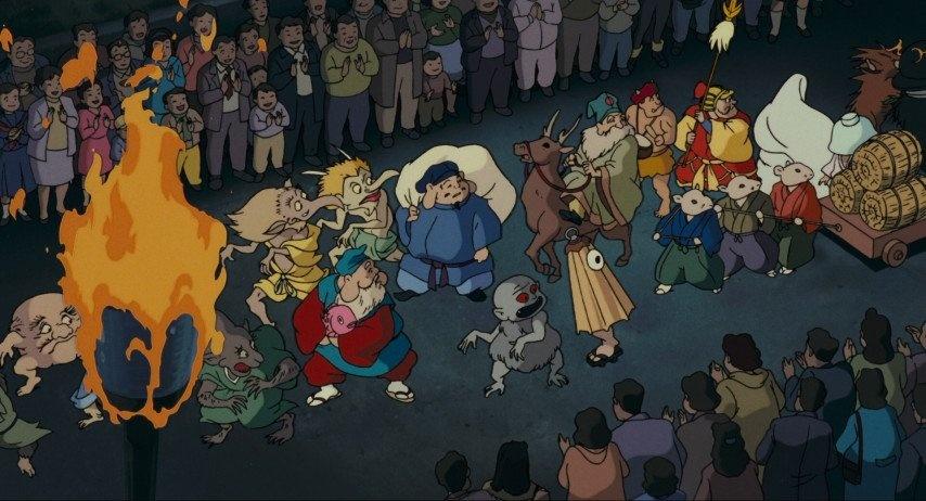 Yokai Nhat Ban tac oai tac quai khap cac trang sach, manga va phim anh hinh anh 3 D6LaRgCU8AUnkEA.jpg
