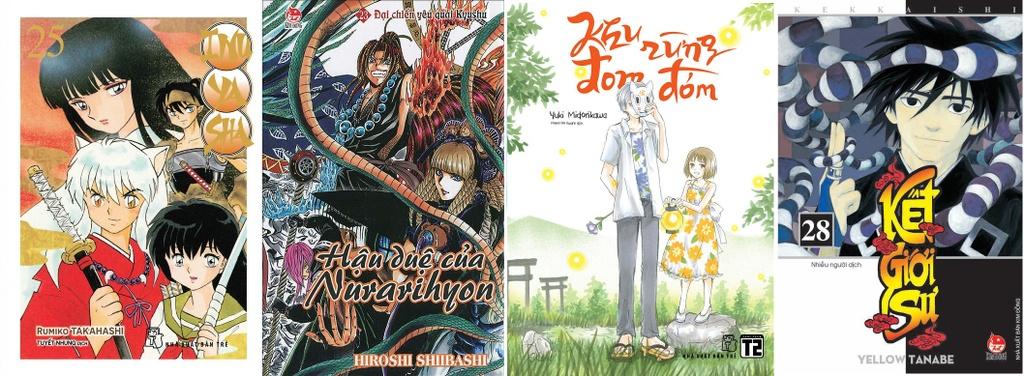 Yokai Nhat Ban tac oai tac quai khap cac trang sach, manga va phim anh hinh anh 2 nxbtre_full_04032019_020351_1.jpg