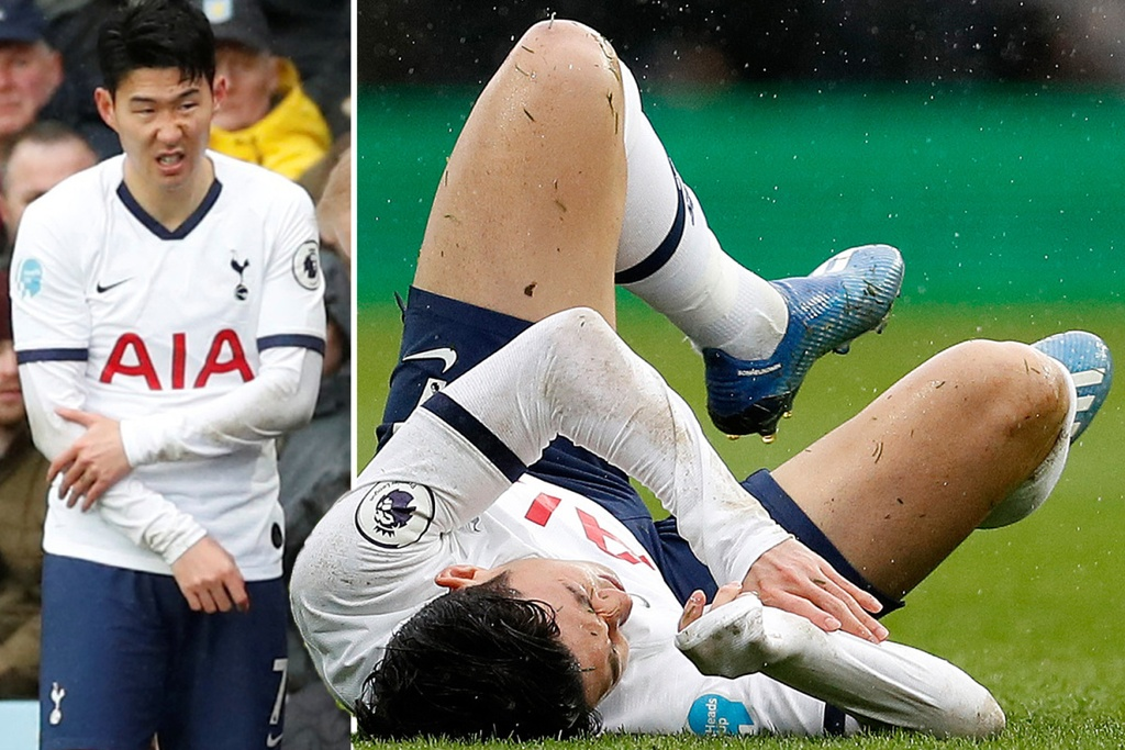 Tottenham cho Son Heung-min lam nen ky tich hinh anh 1 SPORT_PREVIEW_son_injury.jpg