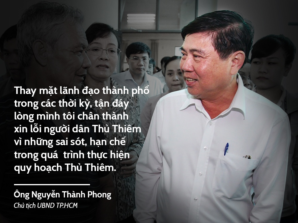 Chu tich UBND TP.HCM gap dan Thu Thiem anh 1
