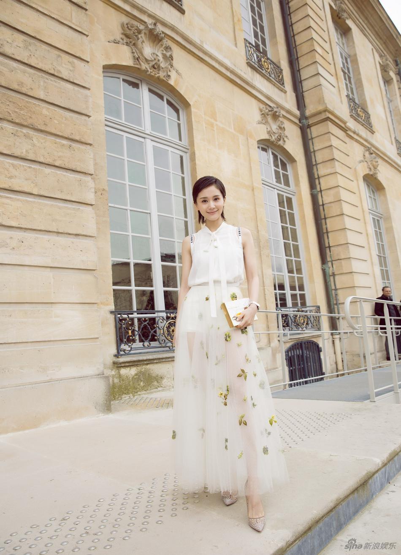 Luu Diec Phi Tuan le thoi trang Paris 2018 anh 5